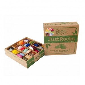 Crayon Rocks Sojawaskrijtjes Just Rocks in a Box 32 kleuren (64 stuks)