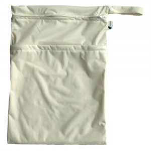 Little Lamb Dubbele Wetbag Large Cream