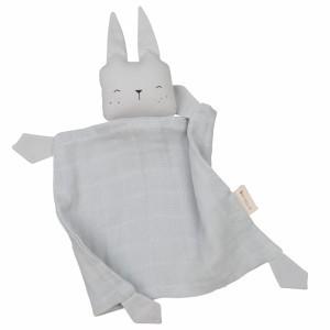 Fabelab Knuffeldoekje Bunny Ice Grey