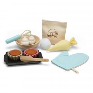 PlanToys Keuken Cupcake Set