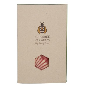Superbee Herbruikbare Waxwraps Bijenwasfolie XLarge (1 stuks)