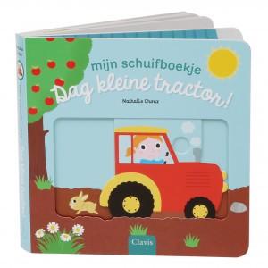 Clavis Mijn schuifboekje Dag kleine tractor!