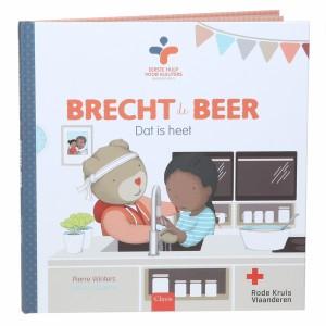 Clavis Boek Brecht de Beer - Dat is heet