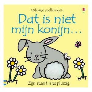 Usborne Voelboekje Dat is niet mijn konijn