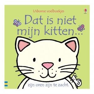 Usborne Voelboekje Dat is niet mijn kitten