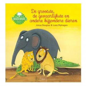 Clavis 'Willewete' Informatief Prentenboek De grootste, de gevaarlijkste en andere bijzondere dieren