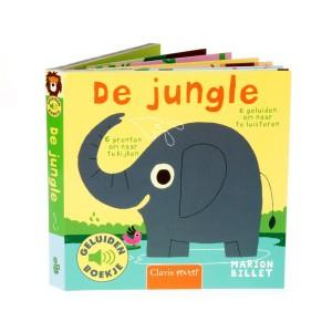 Clavis Geluidenboekje De jungle