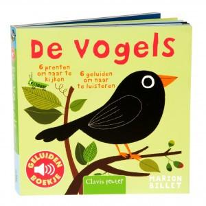 Clavis Geluidenboekje De vogels