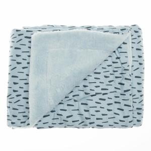 Trixie Fleece Dekentje dubbel Blue Meadow 100 x 150 cm