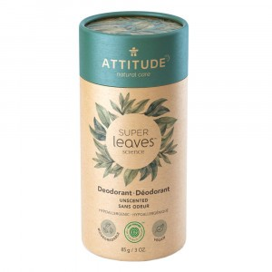 Attitude Super Leaves Deodorant Unscented