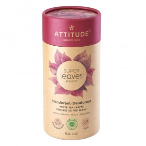 Attitude Super Leaves Deodorant White Tea Leaves