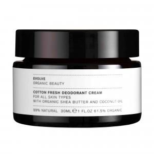 Evolve Deodorant Crème Cotton Fresh (30 ml)