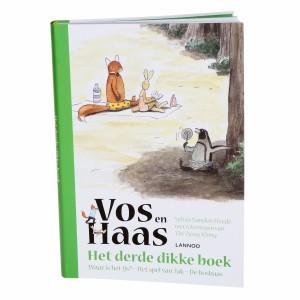Lannoo Boek Vos en Haas 'Het derde dikke boek'