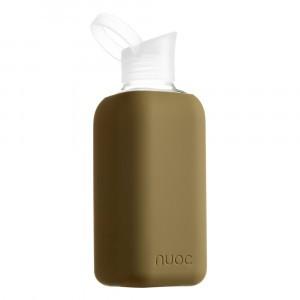 Nuoc Glazen Drinkfles Desertpoint Green Khaki (800 ml)