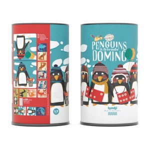Londji Domino 'Penguins & Friends'