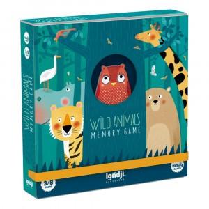 Londji Memo Spel 'Wild Animals'