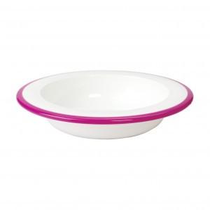 Oxo Tot Diep bord voor grote kindjes Roze