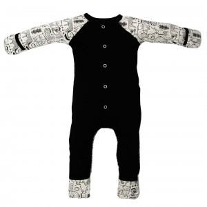 Goumikids Pyjama met voetjes Dierenwereld