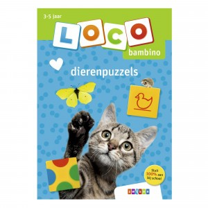 Zwijsen Oefenboekje Loco Bambino 'Dierenpuzzels'