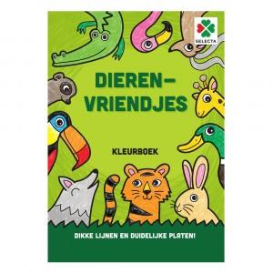 Selecta Kleurboek Dierenvriendjes