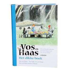 Lannoo Boek Vos en Haas 'Het dikke boek'