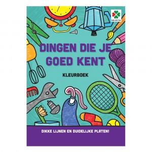 Selecta Kleurboek Dingen die je goed kent