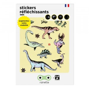 Rainette Reflecterende Stickers - Dino