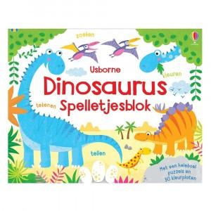 Usborne Dinosaurus spelletjesblok