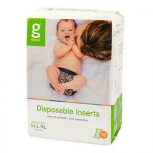 gDiapers Disposable Inserts - M-L-XL (5-16+kg)