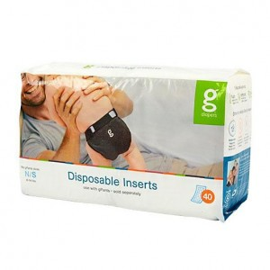 gDiapers Disposable Inserts - Small (3-7kg)