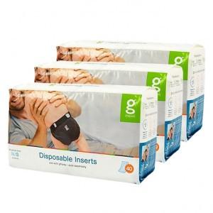 gDiapers Disposable Inserts - Small (3-7kg) Voordeelpakket (3 pakken)