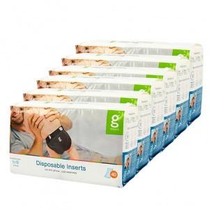 gDiapers Disposable Inserts - Small (3-7kg) Voordeelpakket (6 pakken)