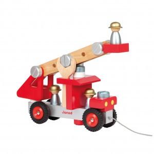 Janod DIY Brandweerwagen