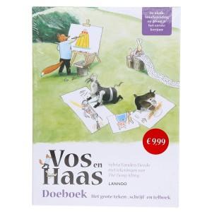 Lannoo Boek Vos en Haas 'Doeboek'