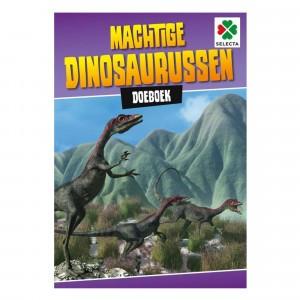 Selecta Doeboek Machtige dinosaurussen