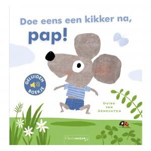 Clavis Geluidenboekje Doe eens een kikker na, pap!