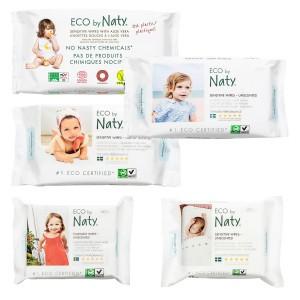 Naty Eco Vochtige doekjes Voordeelpakket