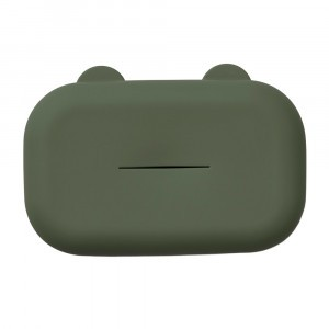 Liewood Emi Silicone Doekjes Cover Hunter Green