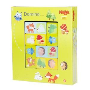 Haba Spel Domino 'Vrolijk Bosleven'
