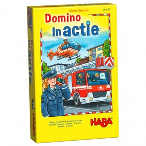Haba Supermini Spel Domino in actie