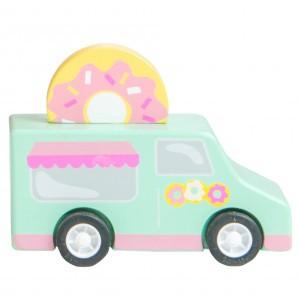 Le Toy Van Sweets & Treats Pull Backs Donut wagen
