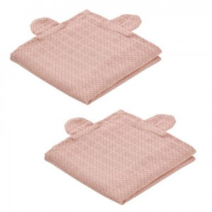 Liewood Tetradoeken (2 pack) Dot Rose