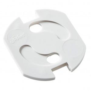 Jippie's Draaistopcontact voor stopcontacten zonder aarding Wit (12 stuks)