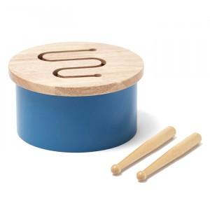 Kid's Concept Trommel Mini Blauw