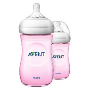 Avent Natural 2.0 Zuigfles 260 ml Roze DUO