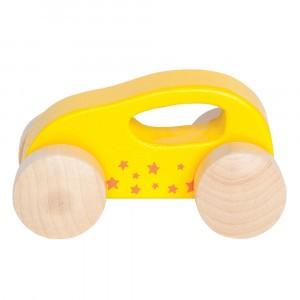 Hape Kleine Auto Geel