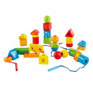 Hape Rijgspel 'String-Along Shapes'