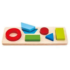Hape Geometrische Puzzel (6 stukken)