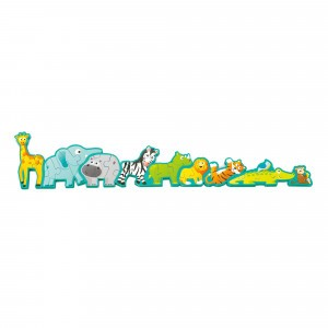 Hape Puzzel Alphabet & Animal Parade