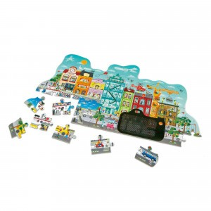 Hape Puzzel Animated City